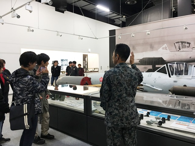 20181220学部デー入間基地01.JPG