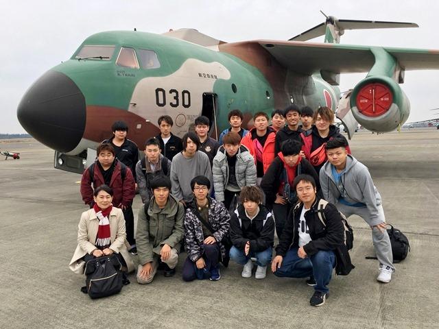 20181220学部デー入間基地02.JPG