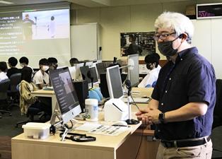 斎賀 和彦 教授による模擬授業